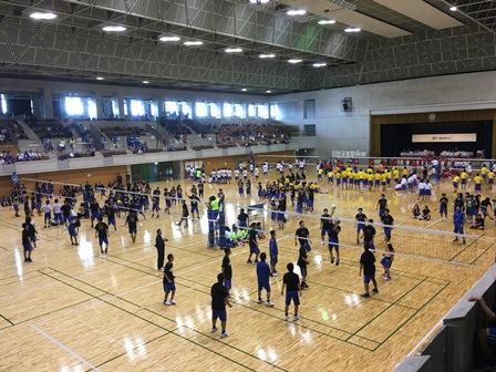新入生歓迎球技大会の写真1